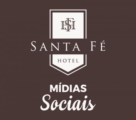Mídias Sociais - Hotel Santa Fé
