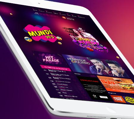 Website Mundi FM